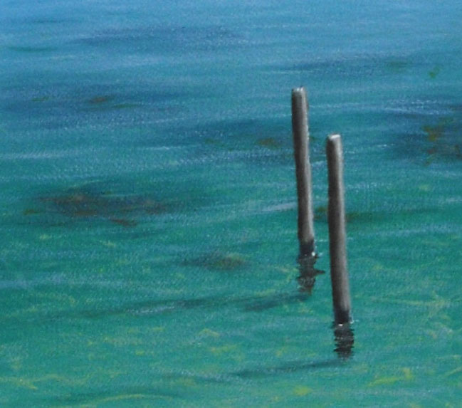 Always wanted to paint crystal clear tropical water?  Now you can.  For free!