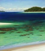 Mark's tropical beach downloadable tutorial will have you showing off your tropical landscapes in no time!