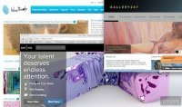 Online galleries are a great way of testing the waters when you prepare art to sell.