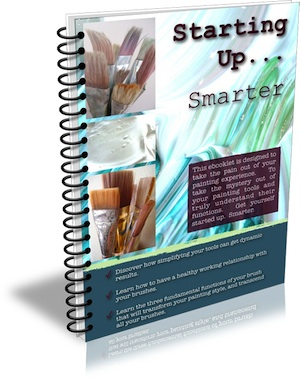 Mark Waller's 2nd ebooklet Starting Up...Smarter will have you ready to go with any painting you want to start on!