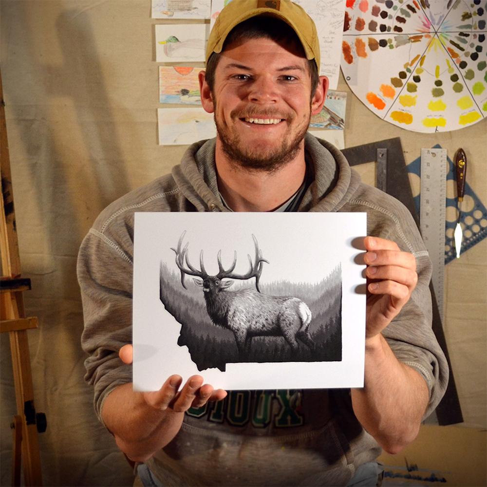 Chuck Black, Wildlife Artist