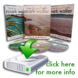 Mark Waller's how to paint with DVD series is available in hard copy or downloadable format.