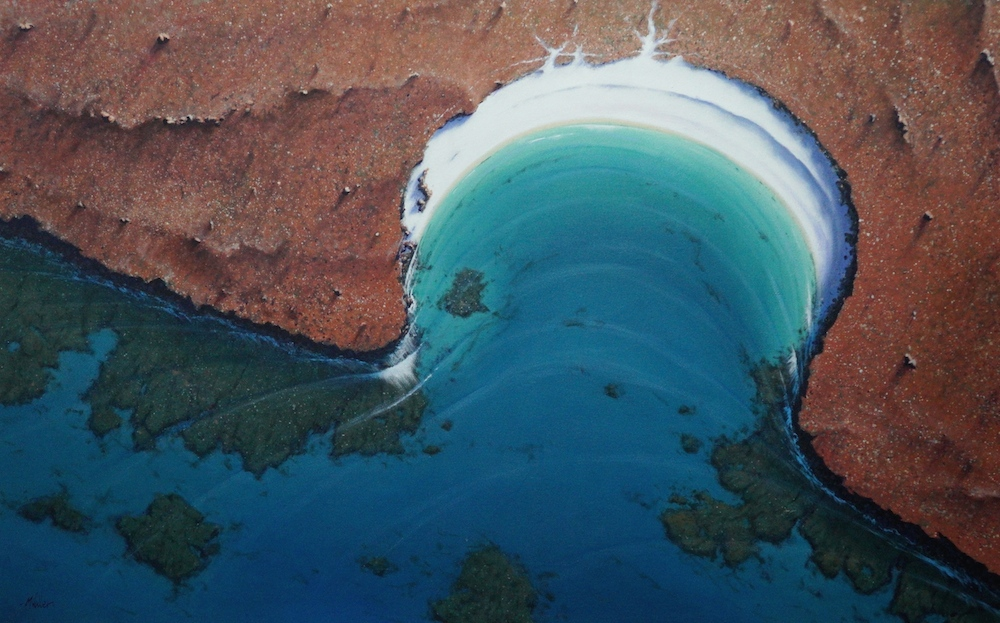 Down Under From Above - by Mark Waller