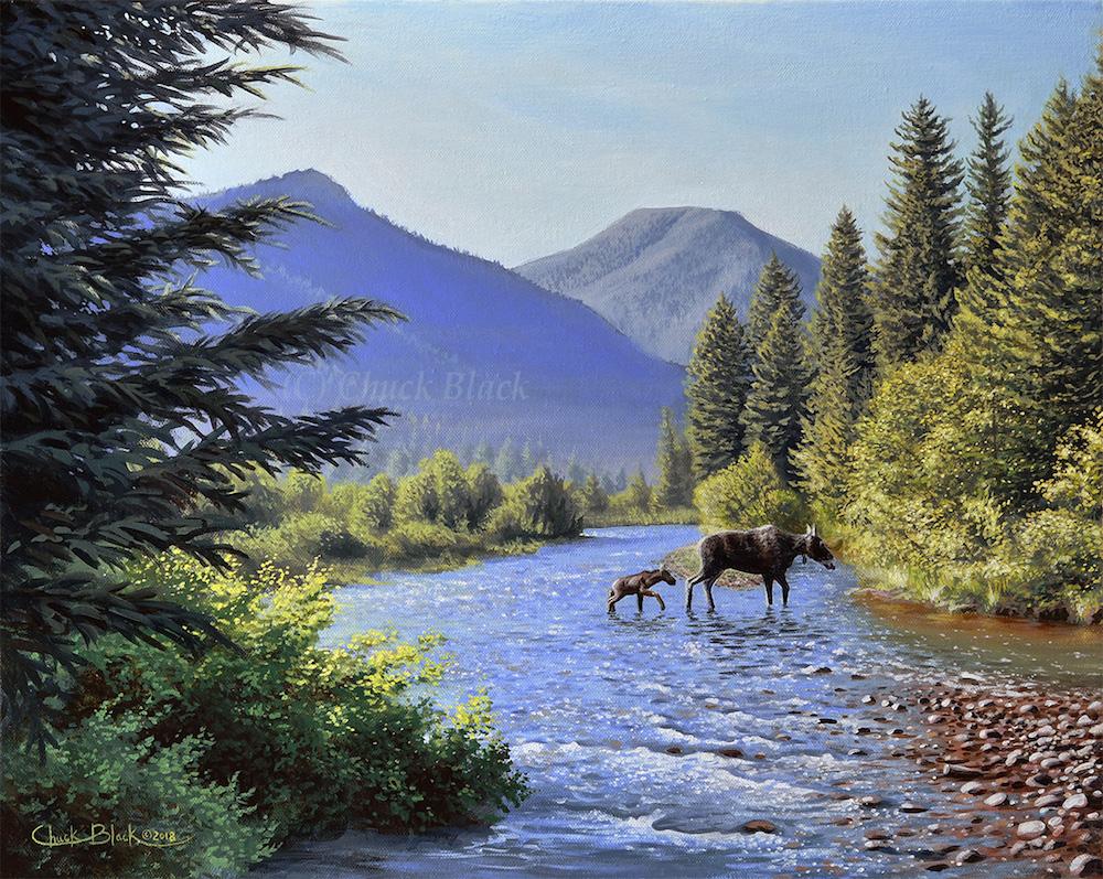 Mill Creek by Chuck Black