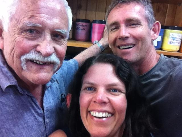 Jim Cobb, Frankie Sharman and Mark Waller at Chroma HQ Sydney November 2015