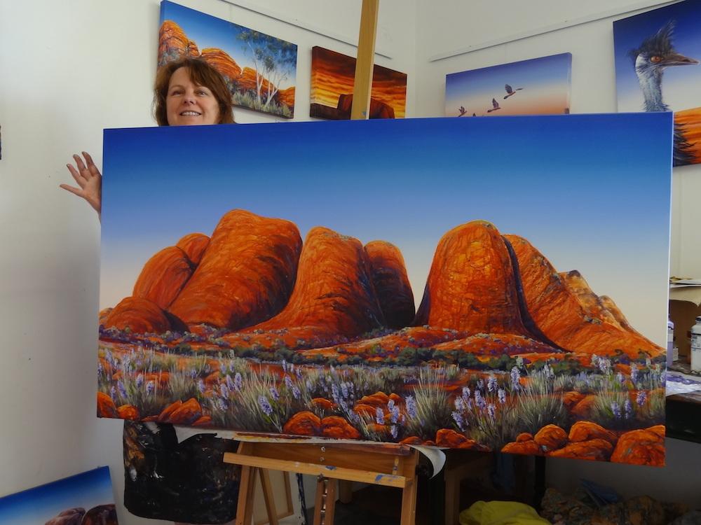 Linda MacAuley's Kata Juta Spring