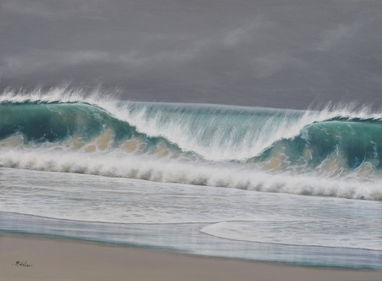 Shorebreak by Mark Waller