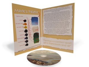 Looking for painting inspiration?  Mark Waller's Tips & Techniques DVD will having you lit up about painting again!