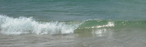 painting waves example whitewash
