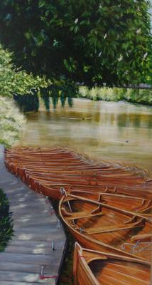 Boats at Dedham
