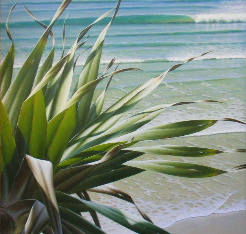 Learn how to paint a beachscape like this one!