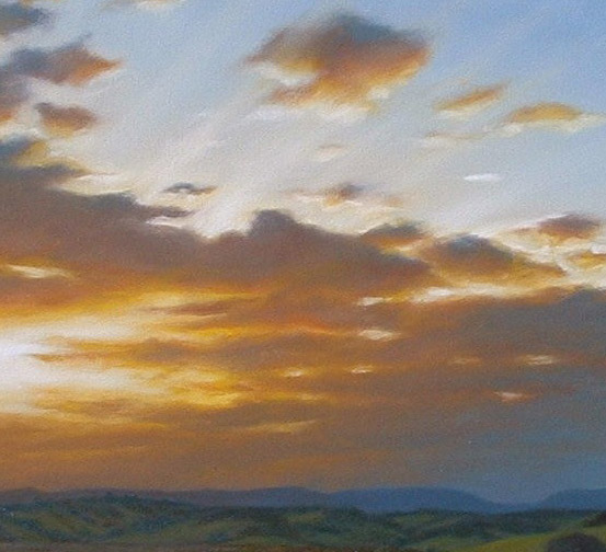 Learn how to paint realistic clouds with the light source in mind.