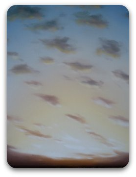 skyscapes - completed painting