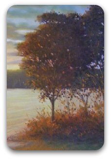 how to paint trees - example