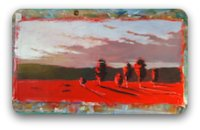landscape painting - block in your darks and lights