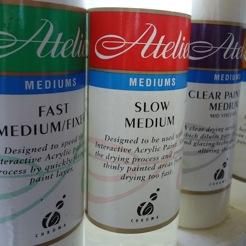 painting tools - your mediums