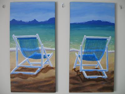 Pair of Beach Chairs