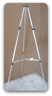 portable easel - extended steel easel