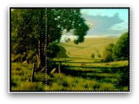 landscape painting - square rule