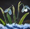 Snow Drops - 10x10 Atelier Interactive Painting
