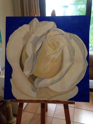 In Progress with my painting of