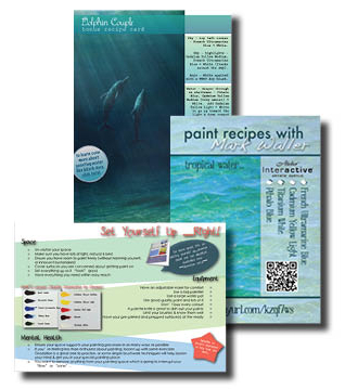 Your bonus supporting PDFs come free with every purchase of Dolphin Family - Underwater