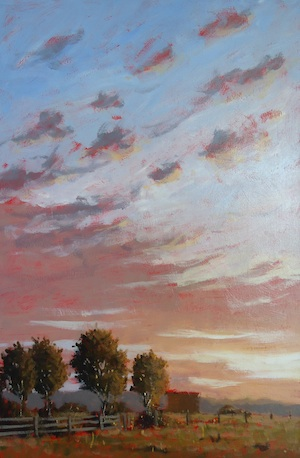 Mark Waller's impressionism art style