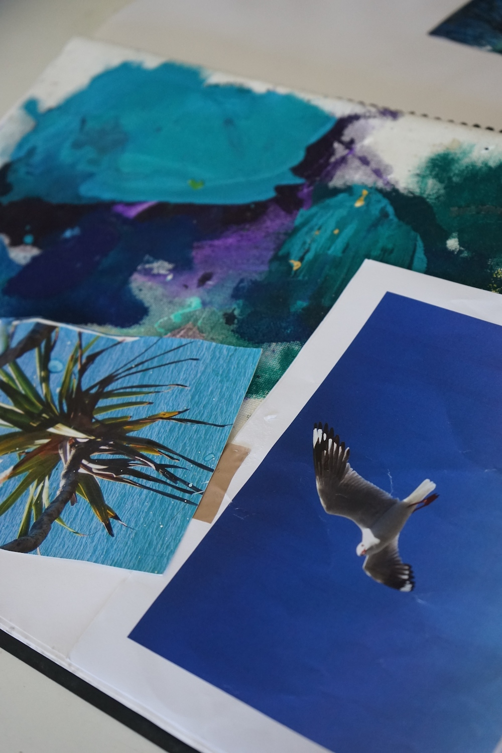 Keeping a visual diary - cut and paste all your inspiring pics.