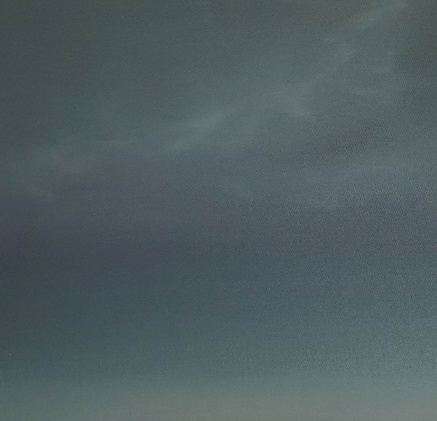 Painting a stormy background using lots of muted greys.