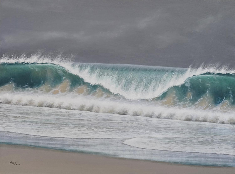 Shorebreak by Mark Waller