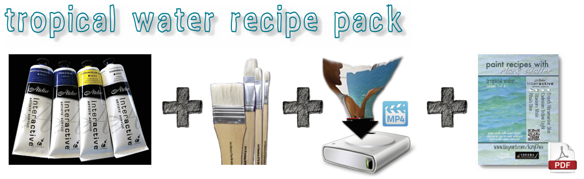Your Tropical Water Recipe Pack
