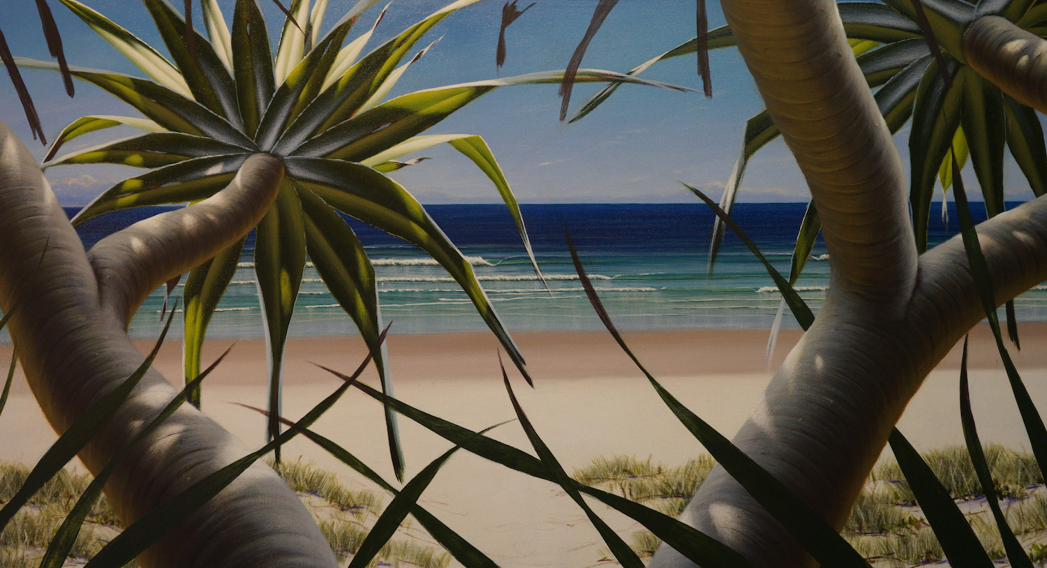 Ann's beachscape commission.  Beautiful and bright!