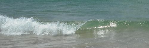 painting waves example whitewash