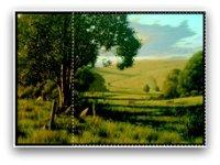 landscape painting - square rule