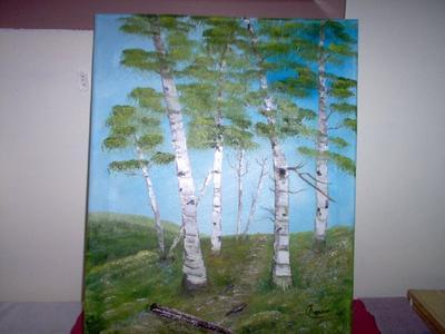 Nova Scotia Birches